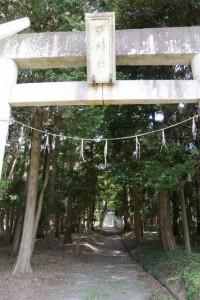 (2)-7 明神社(あきらじんじゃ)(津市芸濃町楠原)