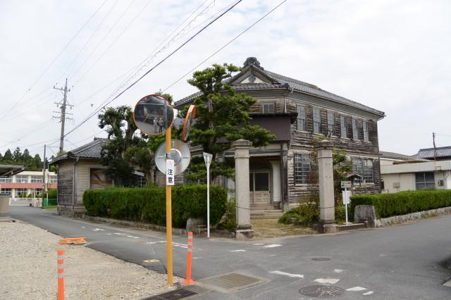 2015年09月21日時点の旧明村役場庁舎(津市芸濃町林)