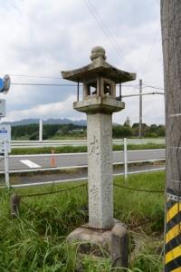 (2)-17 石燈籠(常夜燈兼道標)
