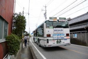 大里窪田町出口交差点を越えて、(6) 窪田宿