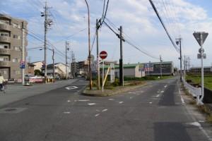 (7) 一身田の(!)地点