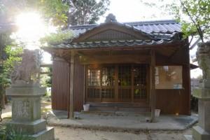 中野大乃己所神社(津市一身田中野)