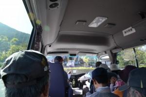 宮リバー度会パーク バザール度会前駐車場(バスで出発)