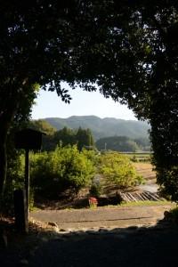 久具都比賣神社(皇大神宮摂社)からの風景