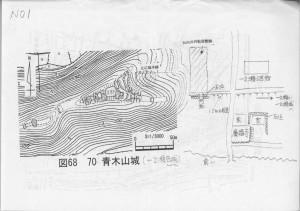 No.1 青木山城(一之瀬西域)の資料