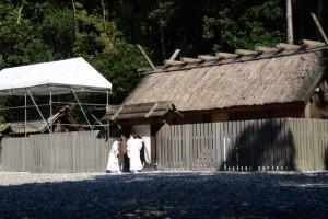 和妙の奉織作業(神服織機殿神社)