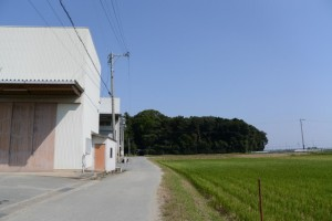 神麻続機殿神社から須賀神社へ(松阪市井口中町)