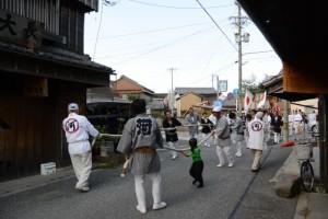 河邊七種神社のお白石持行事(伊勢市河崎)