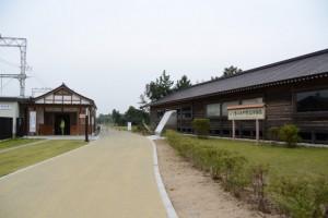 近鉄斎宮駅 史跡公園口休憩所付近