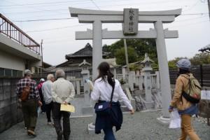秋葉神社(竹茗舎の隣)