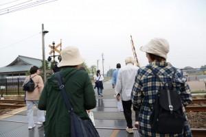 近鉄山田線 踏切道 斎宮第一号