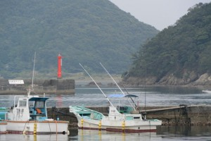 神前浦吉津漁港