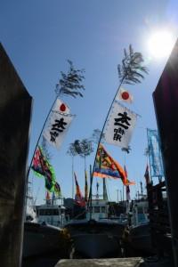 太一御用船(御幣鯛船)(伊勢市神社港)