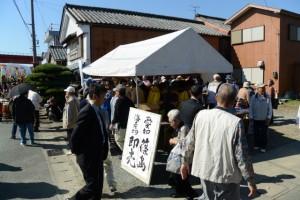 篠島の海産物直売(伊勢市神社港)