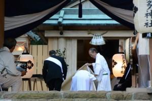 賀多神社の御遷宮、遷座祭(鳥羽市鳥羽)
