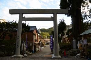 御遷宮を終えた賀多神社を後にして
