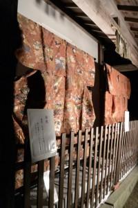 江戸時代の唐織ほか(賀多神社)