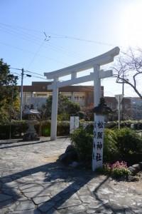 松阪神社の参道(松阪市殿町)