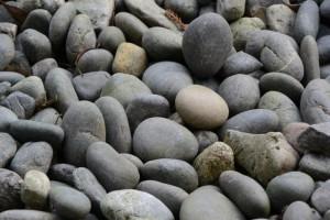 大庭に敷かれている石・・(外宮)