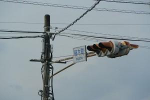 県道37号(鳥羽松阪線) 稲木町交差点(松阪市稲木町)
