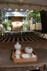 仮殿、有田神社(伊勢市小俣町湯田)