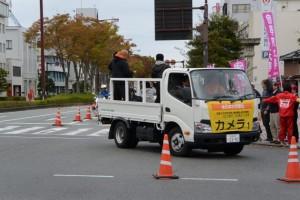 「カメラ1」車(第47回全日本大学駅伝)