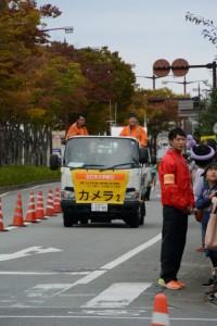 「カメラ2」車(第47回全日本大学駅伝)
