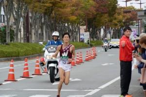 早稲田大 佐藤淳(第47回全日本大学駅伝)