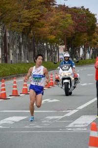 日本体育大 奥野翔弥(第47回全日本大学駅伝)