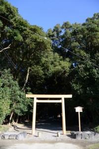 御造替が進められる神服織機殿神社(皇大神宮所管社)