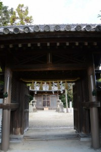 神門、御厨神社(松阪市本町)