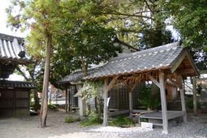 手水舎、御厨神社(松阪市本町)