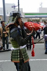 第54回 氏郷まつり 武者行列(松阪市)