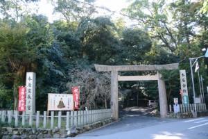 本居宣長ノ宮(松阪市殿町)