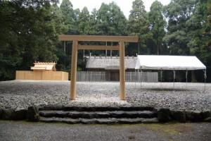 御造替が完了した神服織機殿神社ほか(皇大神宮所管社)