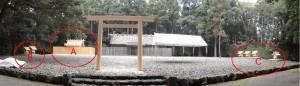 神服織機殿神社および神服織機殿神社末社八所