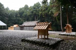 御造替が完了した神服織機殿神社、同末社八所(皇大神宮所管社)