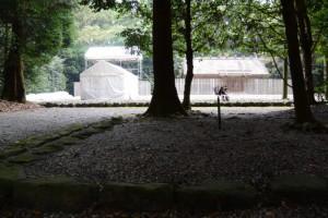 御造替が開始された神麻続機殿神社(皇大神宮所管社)