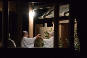 河邊七種神社の遷座祭、撤饌