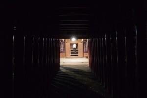 仮殿の役目を終えた吉家神社(吉家稲荷神社)