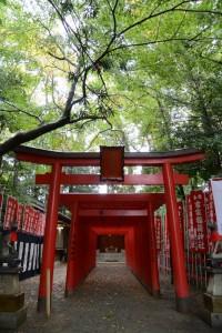 河邊七種神社の仮殿となっていた吉家神社(吉家稲荷神社)