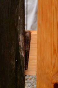 一部を残して建て替えられた瑞垣(神麻続機殿神社)
