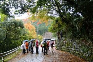 舟戸公民館〜舟戸街道橋(櫛田川)