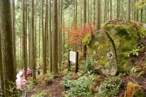 両部曼荼羅石碑(松阪市飯高町舟戸)