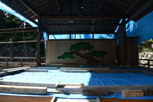 組立式能舞台(賀多神社)
