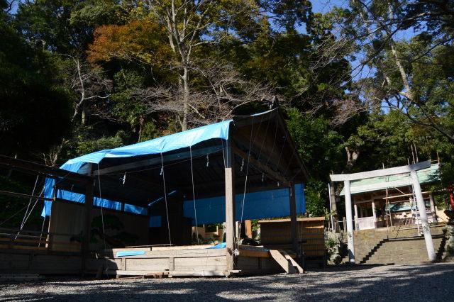 組立式舞台(賀多神社)