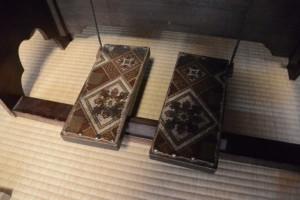 長尾オルガンの足踏みペダル(鳥羽 大庄屋かどや)