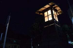 妙慶川付近の常夜燈
