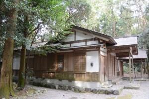 神服織機殿神社の斎館(皇大神宮所管社)