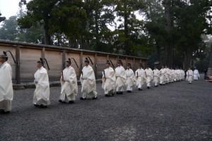 新嘗祭、奉幣の儀(外宮)
